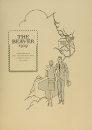 Page 7, 1929 Edition, Oregon State University - Beaver Yearbook (Corvallis, OR) online yearbook collection