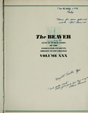 Page 7, 1936 Edition, Oregon State University - Beaver Yearbook (Corvallis, OR) online yearbook collection