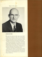 Page 6, 1959 Edition, Oregon State University - Beaver Yearbook (Corvallis, OR) online yearbook collection