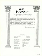 Page 6, 1977 Edition, Oregon State University - Beaver Yearbook (Corvallis, OR) online yearbook collection