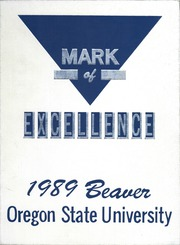 1989 Edition, Oregon State University - Beaver Yearbook (Corvallis, OR)