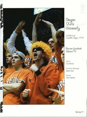 Page 5, 1999 Edition, Oregon State University - Beaver Yearbook (Corvallis, OR) online yearbook collection