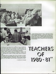 Page 161, 1981 Edition, Pueblo High School - El Dorado Yearbook (Tucson, AZ) online yearbook collection