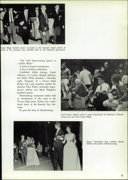 Page 17, 1965 Edition, Salpointe Catholic High School - Horizons Yearbook (Tucson, AZ) online yearbook collection