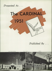 Page 9, 1951 Edition, Glendale High School - Cardinal Yearbook (Glendale, AZ) online yearbook collection