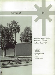 Page 13, 1965 Edition, Glendale High School - Cardinal Yearbook (Glendale, AZ) online yearbook collection