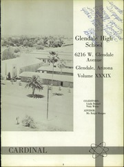 Page 7, 1966 Edition, Glendale High School - Cardinal Yearbook (Glendale, AZ) online yearbook collection