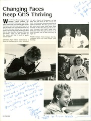 Page 14, 1987 Edition, Glendale High School - Cardinal Yearbook (Glendale, AZ) online yearbook collection