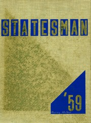 1959 Edition, Carl Hayden High School - Statesman Yearbook (Phoenix, AZ)