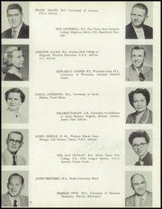 Page 12, 1957 Edition, Douglas High School - Copper Kettle Yearbook (Douglas, AZ) online yearbook collection
