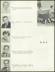Page 14, 1957 Edition, Douglas High School - Copper Kettle Yearbook (Douglas, AZ) online yearbook collection
