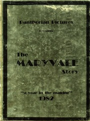 1982 Edition, Maryvale High School - Panthorian Yearbook (Phoenix, AZ)