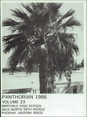 Page 5, 1986 Edition, Maryvale High School - Panthorian Yearbook (Phoenix, AZ) online yearbook collection