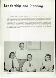 Page 14, 1958 Edition, Central High School - Centralian Yearbook (Phoenix, AZ) online yearbook collection
