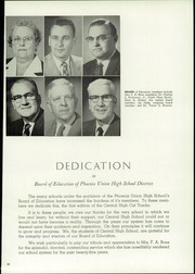 Page 9, 1958 Edition, Central High School - Centralian Yearbook (Phoenix, AZ) online yearbook collection