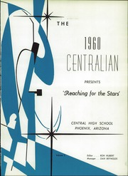 Page 5, 1960 Edition, Central High School - Centralian Yearbook (Phoenix, AZ) online yearbook collection