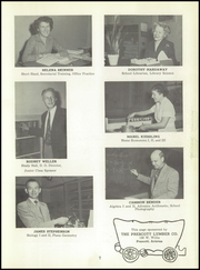 Page 11, 1954 Edition, Prescott High School - Hassayamper Yearbook (Prescott, AZ) online yearbook collection