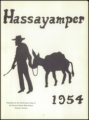 Page 5, 1954 Edition, Prescott High School - Hassayamper Yearbook (Prescott, AZ) online yearbook collection