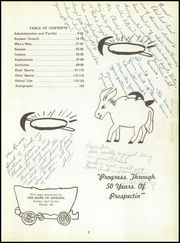 Page 7, 1954 Edition, Prescott High School - Hassayamper Yearbook (Prescott, AZ) online yearbook collection
