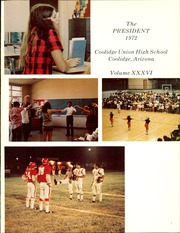 Page 5, 1972 Edition, Coolidge High School - President Yearbook (Coolidge, AZ) online yearbook collection