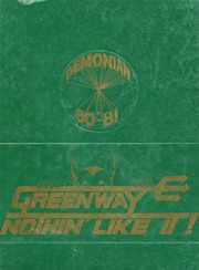 1981 Edition, Greenway High School - Demonian Yearbook (Phoenix, AZ)