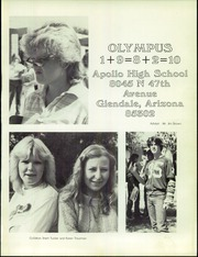 Page 5, 1982 Edition, Apollo High School - Olympus Yearbook (Glendale, AZ) online yearbook collection