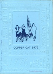 1976 Edition, Morenci High School - Copper Cat Yearbook (Morenci, AZ)