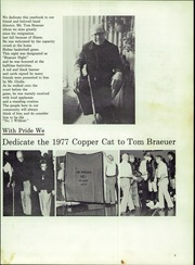 Page 7, 1977 Edition, Morenci High School - Copper Cat Yearbook (Morenci, AZ) online yearbook collection