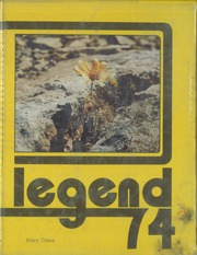 1974 Edition, East High School - Legend Yearbook (Phoenix, AZ)