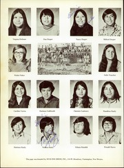 Page 66, 1973 Edition, Chinle High School - TSE YI Yearbook (Chinle, AZ) online yearbook collection