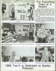 Page 10, 1983 Edition, Chinle High School - TSE YI Yearbook (Chinle, AZ) online yearbook collection