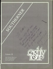 Page 5, 1984 Edition, South Mountain High School - Southerner Yearbook (Phoenix, AZ) online yearbook collection