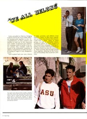 Page 8, 1987 Edition, Marcos De Niza High School - Libro de Oro Yearbook (Tempe, AZ) online yearbook collection