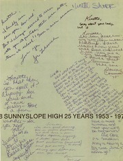 Page 3, 1978 Edition, Sunnyslope High School - Valhalla Yearbook (Phoenix, AZ) online yearbook collection