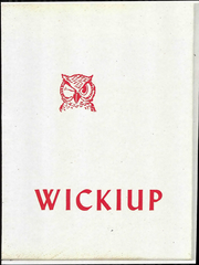 Agua Fria Union High School - Wickiup Yearbook (Avondale, AZ) online yearbook collection, 1965 Edition, Page 1