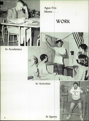 Page 12, 1967 Edition, Agua Fria Union High School - Wickiup Yearbook (Avondale, AZ) online yearbook collection