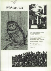 Page 5, 1972 Edition, Agua Fria Union High School - Wickiup Yearbook (Avondale, AZ) online yearbook collection