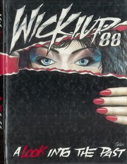 Page 1, 1988 Edition, Agua Fria Union High School - Wickiup Yearbook (Avondale, AZ) online yearbook collection