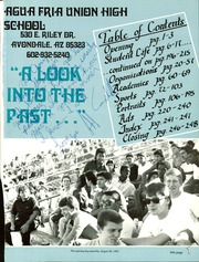Page 5, 1988 Edition, Agua Fria Union High School - Wickiup Yearbook (Avondale, AZ) online yearbook collection