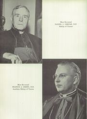 Page 10, 1957 Edition, St Marys Catholic High School - El Caballero Yearbook (Phoenix, AZ) online yearbook collection