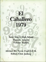 Page 5, 1979 Edition, St Marys Catholic High School - El Caballero Yearbook (Phoenix, AZ) online yearbook collection