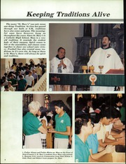 Page 12, 1986 Edition, St Marys Catholic High School - El Caballero Yearbook (Phoenix, AZ) online yearbook collection