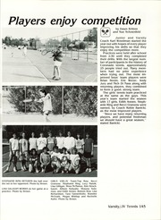 Page 149, 1987 Edition, Coronado High School - Trail Yearbook (Scottsdale, AZ) online yearbook collection