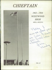 Page 5, 1964 Edition, Westwood High School - Chieftain Yearbook (Mesa, AZ) online yearbook collection
