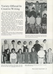 Page 67, 1969 Edition, Westwood High School - Chieftain Yearbook (Mesa, AZ) online yearbook collection