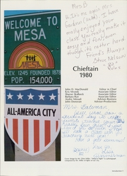 Page 5, 1980 Edition, Westwood High School - Chieftain Yearbook (Mesa, AZ) online yearbook collection