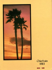 1983 Edition, Westwood High School - Chieftain Yearbook (Mesa, AZ)