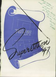 Page 5, 1947 Edition, Mesa High School - Superstition Yearbook (Mesa, AZ) online yearbook collection