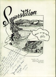 Page 7, 1948 Edition, Mesa High School - Superstition Yearbook (Mesa, AZ) online yearbook collection