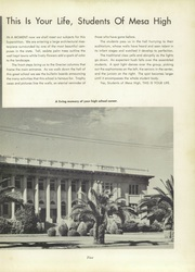 Page 9, 1956 Edition, Mesa High School - Superstition Yearbook (Mesa, AZ) online yearbook collection